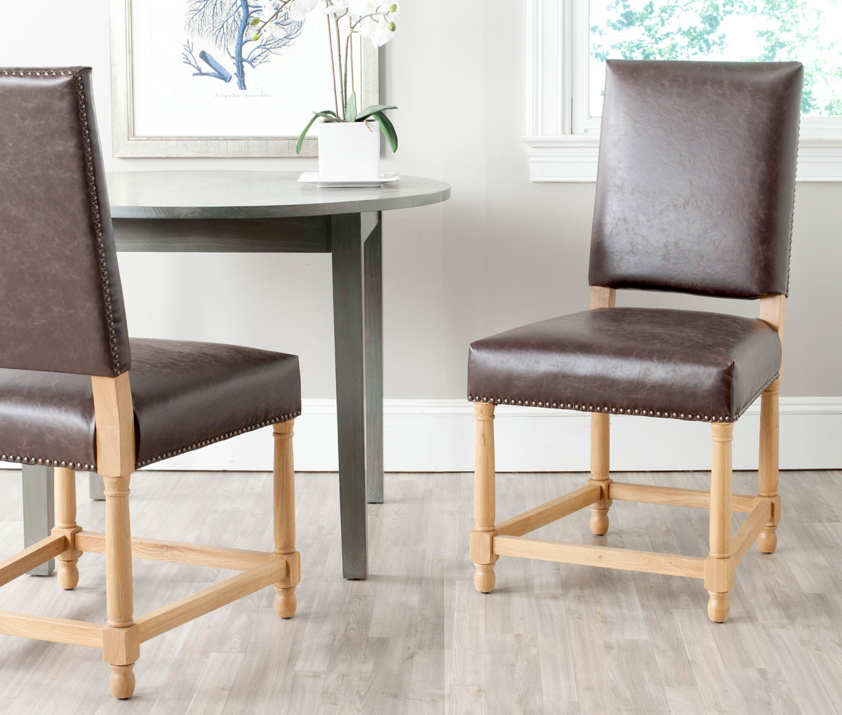 mcr4557b set2 dining chairs furniture by safavieh. Black Bedroom Furniture Sets. Home Design Ideas