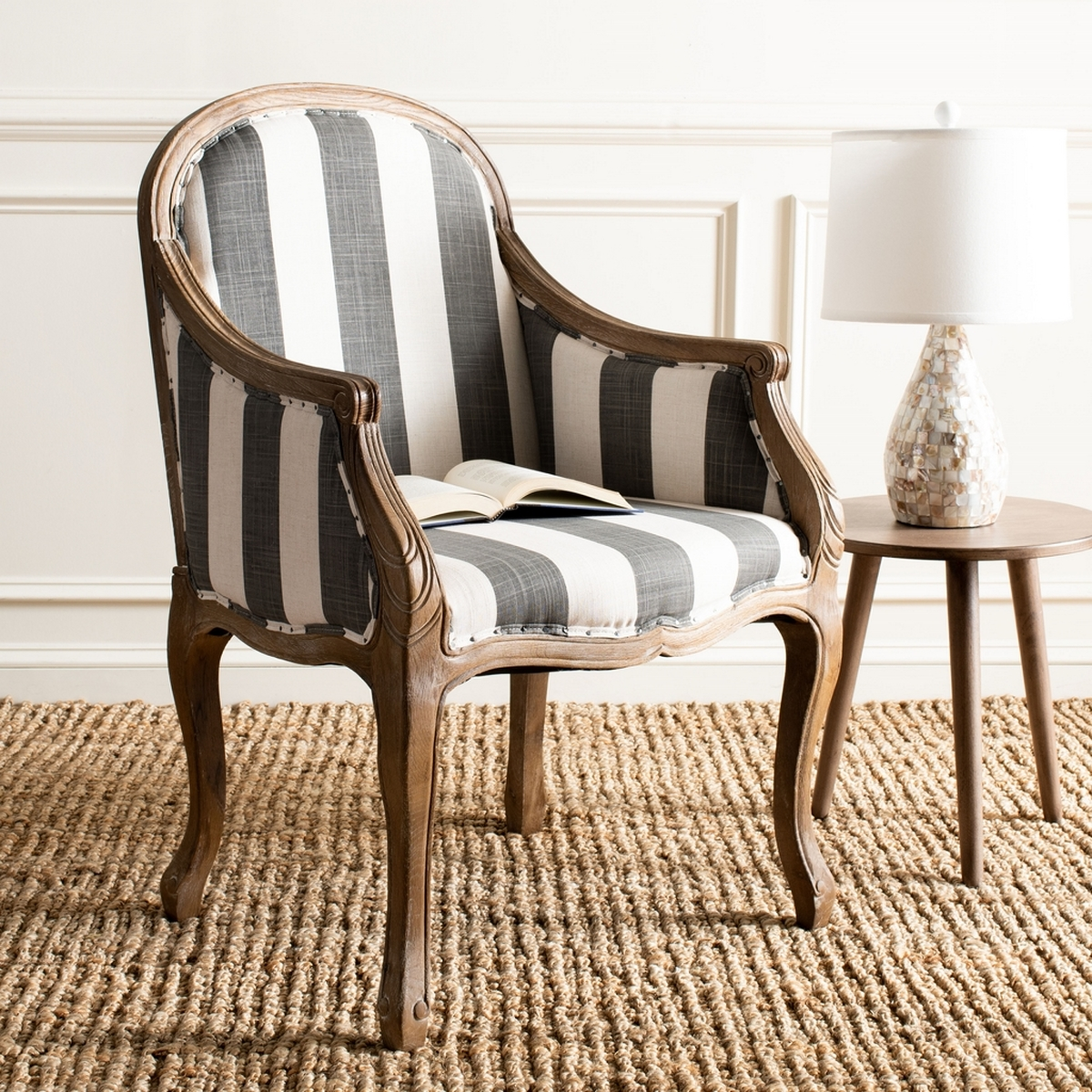 Integrate The Refined Beauty Of French Classical Furniture Into Modern Day  Interiors With The Camelback Esther Arm Chair. Classic Louis XV Bergere  Styling, ...