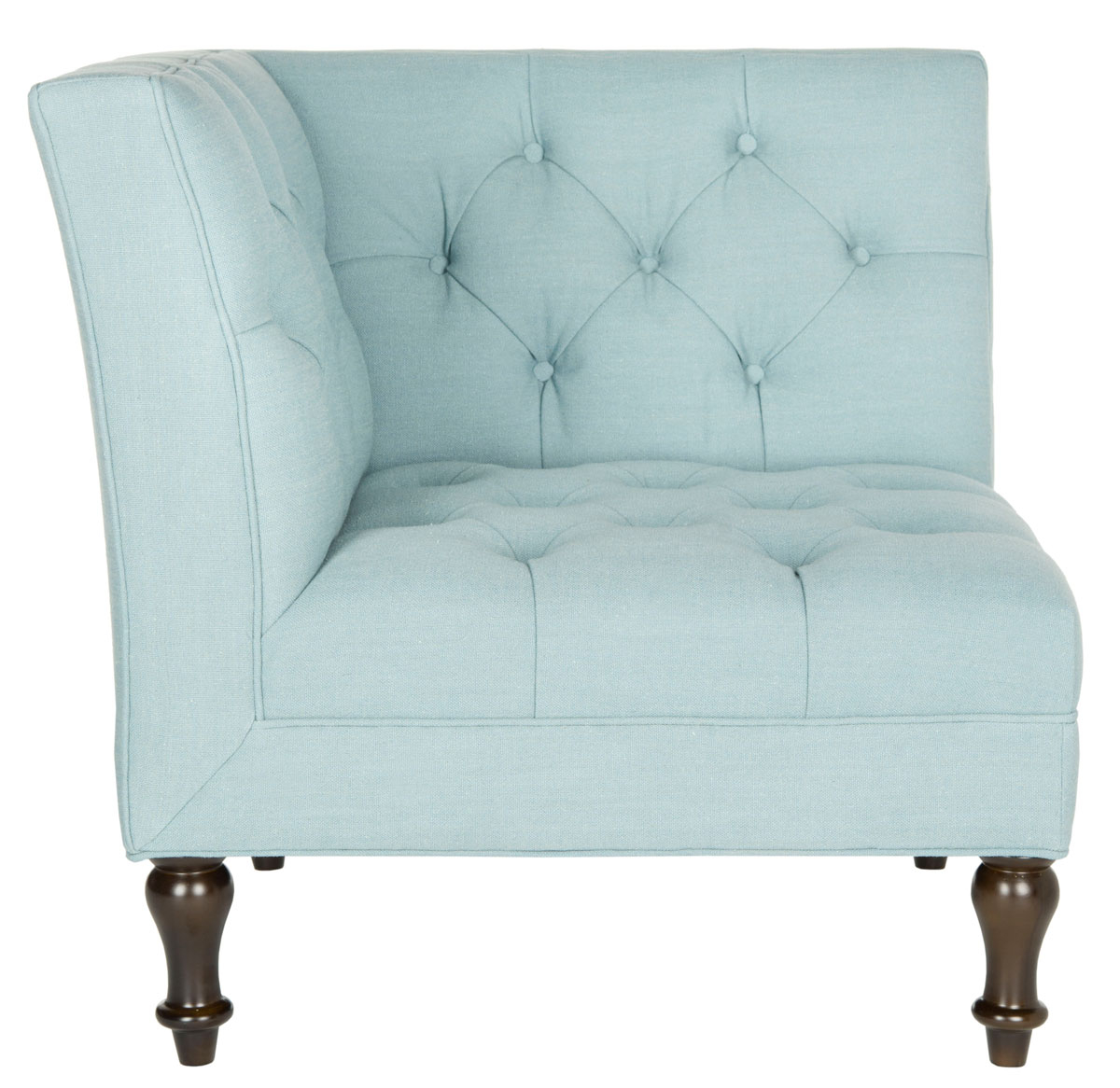 JACK TUFTED CORNER CHAIR MCR4643B ACCENT CHAIRS