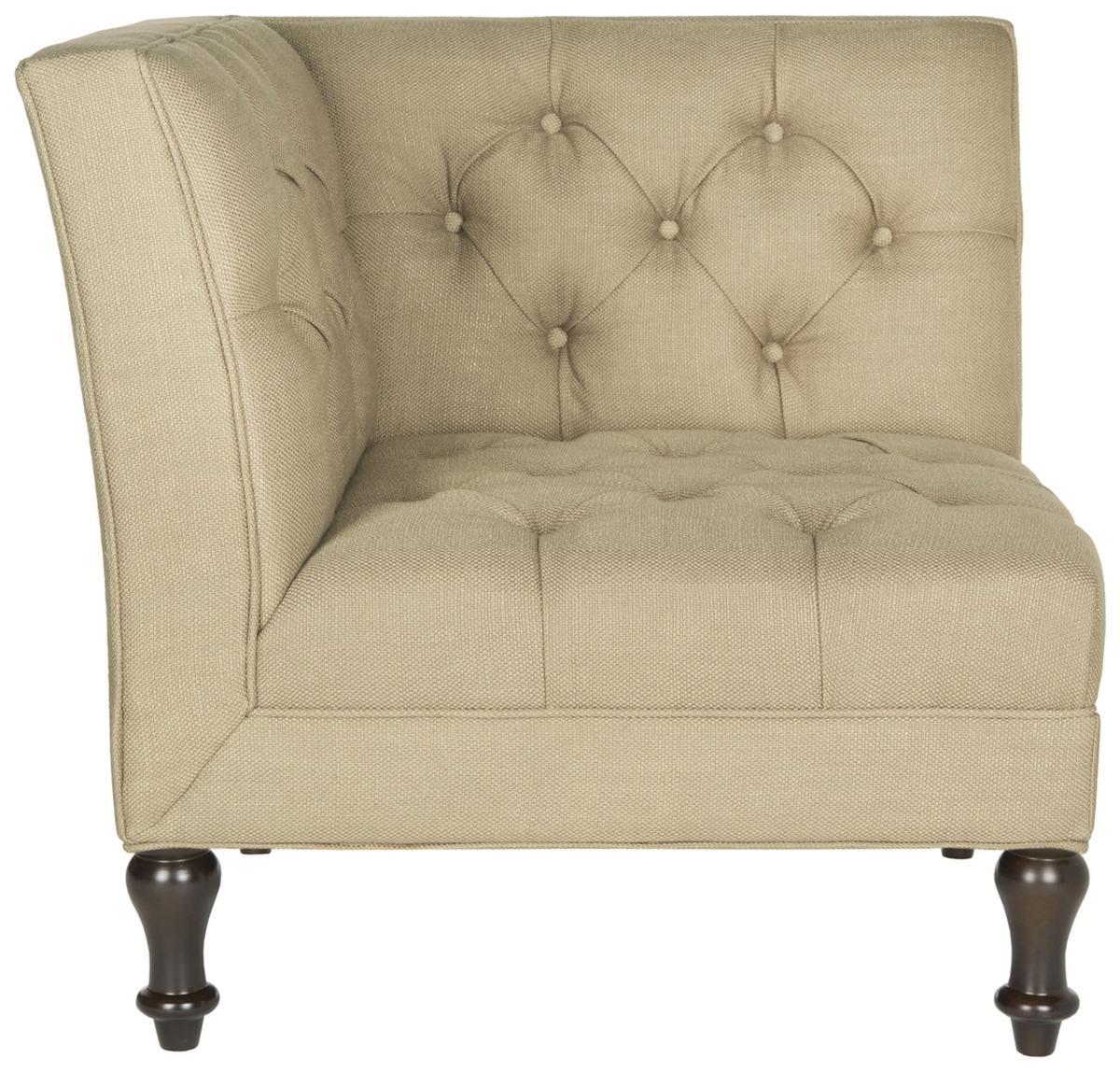 JACK TUFTED CORNER CHAIR MCR4643C Accent Chairs