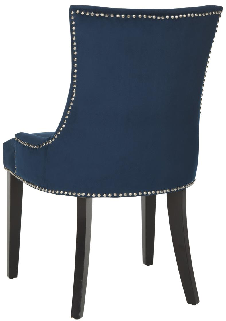 navy cushioned dining chairs. Black Bedroom Furniture Sets. Home Design Ideas