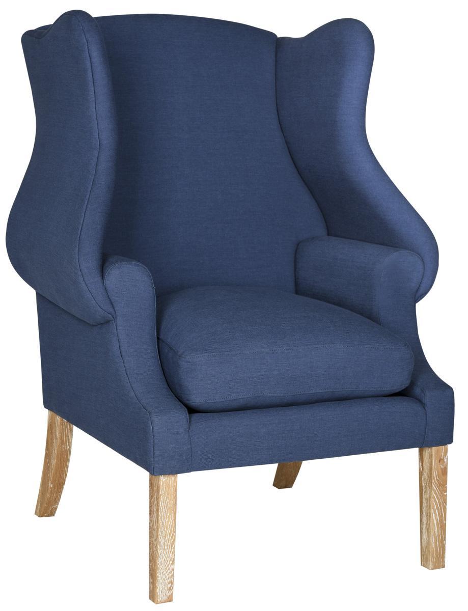 Blue Club Chair   Armchairs - Safavieh.com