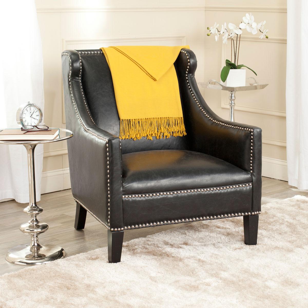 Astonishing Mcr4735A Accent Chairs Furniture By Safavieh Inzonedesignstudio Interior Chair Design Inzonedesignstudiocom