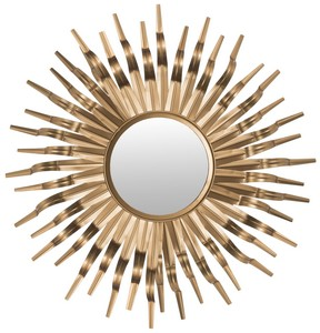 sun mirror item mir3007b color gold