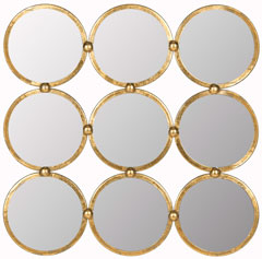 CIRCLES IN THE SQUARE MIRROR