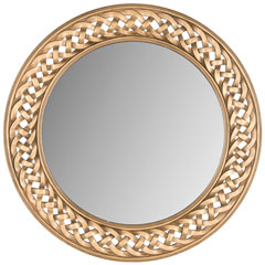 BRAIDED CHAIN MIRROR