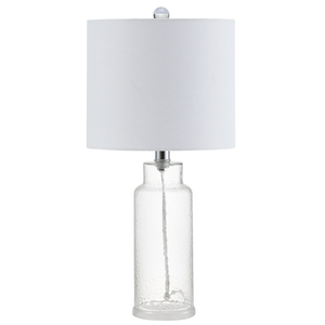 CARMONA TABLE LAMP Item: MLT4004A Color: CLEAR   OFF  WHITE