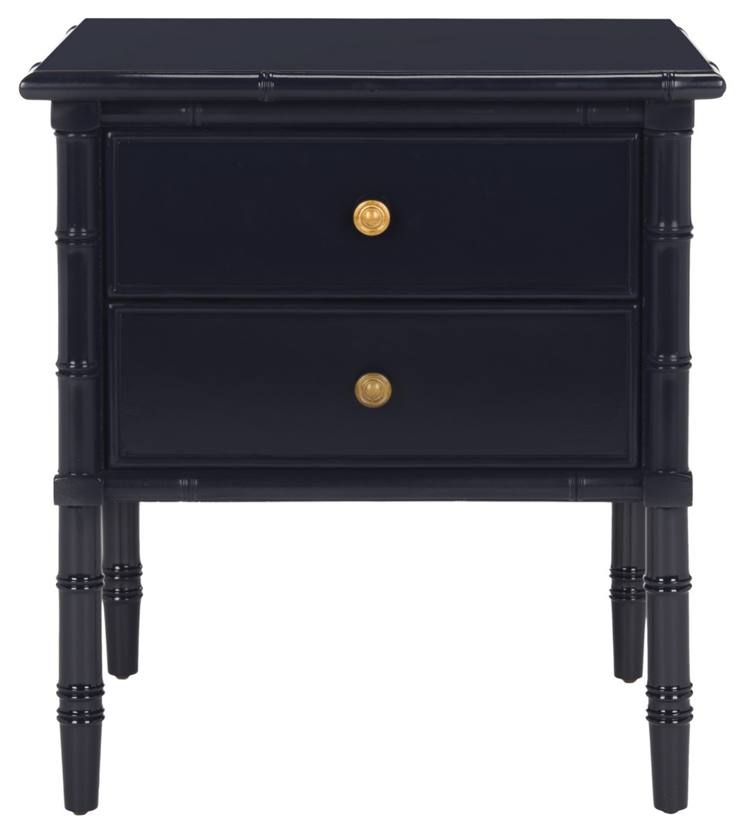 Nst3501a nightstands furniture by safavieh - Elegant types of nightstands ...