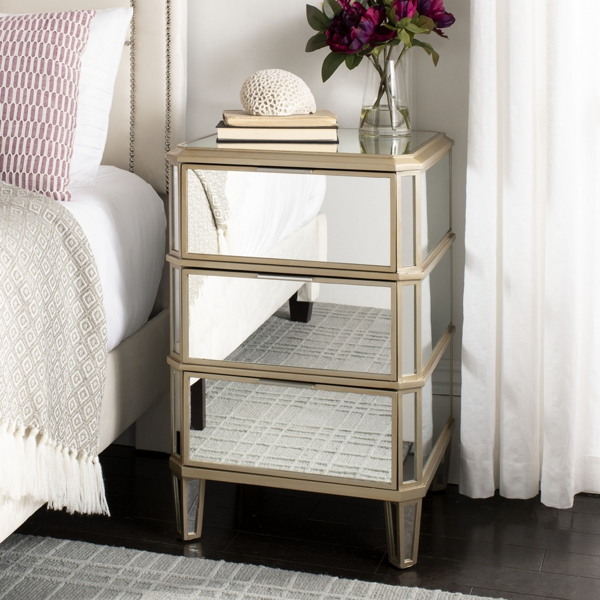 Nst6601a Nightstands Furniture By Safavieh