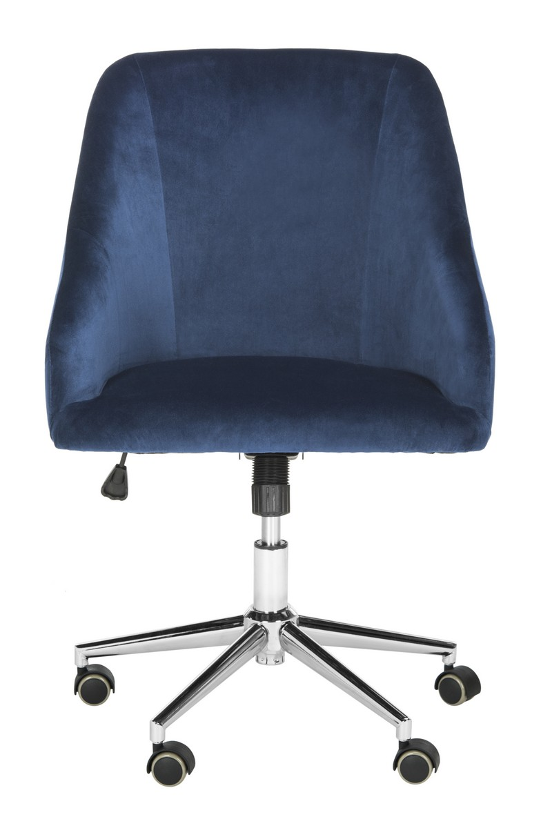 Desk Chairs Color Navy Chrome Save