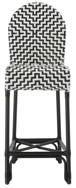 Astonishing Pat4021A Bar Stools Outdoor Bar Stools Furniture By Safavieh Machost Co Dining Chair Design Ideas Machostcouk