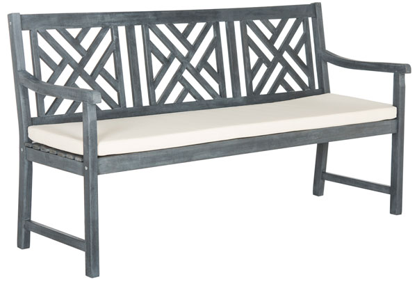 Super Pat6738B Garden Benches Furniture By Safavieh Gmtry Best Dining Table And Chair Ideas Images Gmtryco