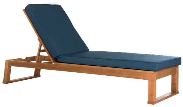 PAT7024C Outdoor Chaise Loungers - Furniture by Safavieh on Safavieh Outdoor Living Solano Sunlounger id=81220