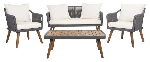 PAT7049A Patio Sets - 4 Piece - Furniture by Safavieh on Safavieh Raldin id=99267