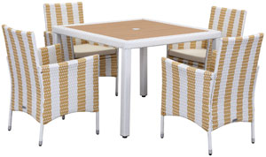 Patio Sets - 5 Piece Outdoor Dining Sets