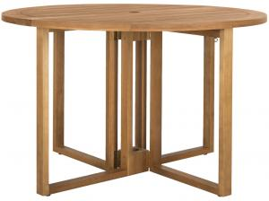 Wales Round 47.24 Inch Dia Dining Table Item: PAT7036A Color: Natural