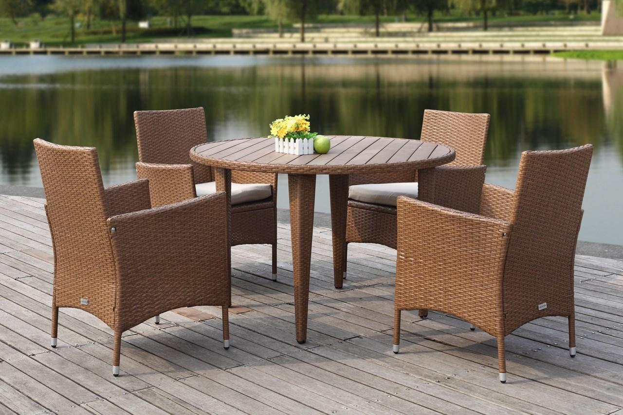 PAT2503C Patio Sets - 5 Piece Outdoor Dining Sets - Furniture by ...