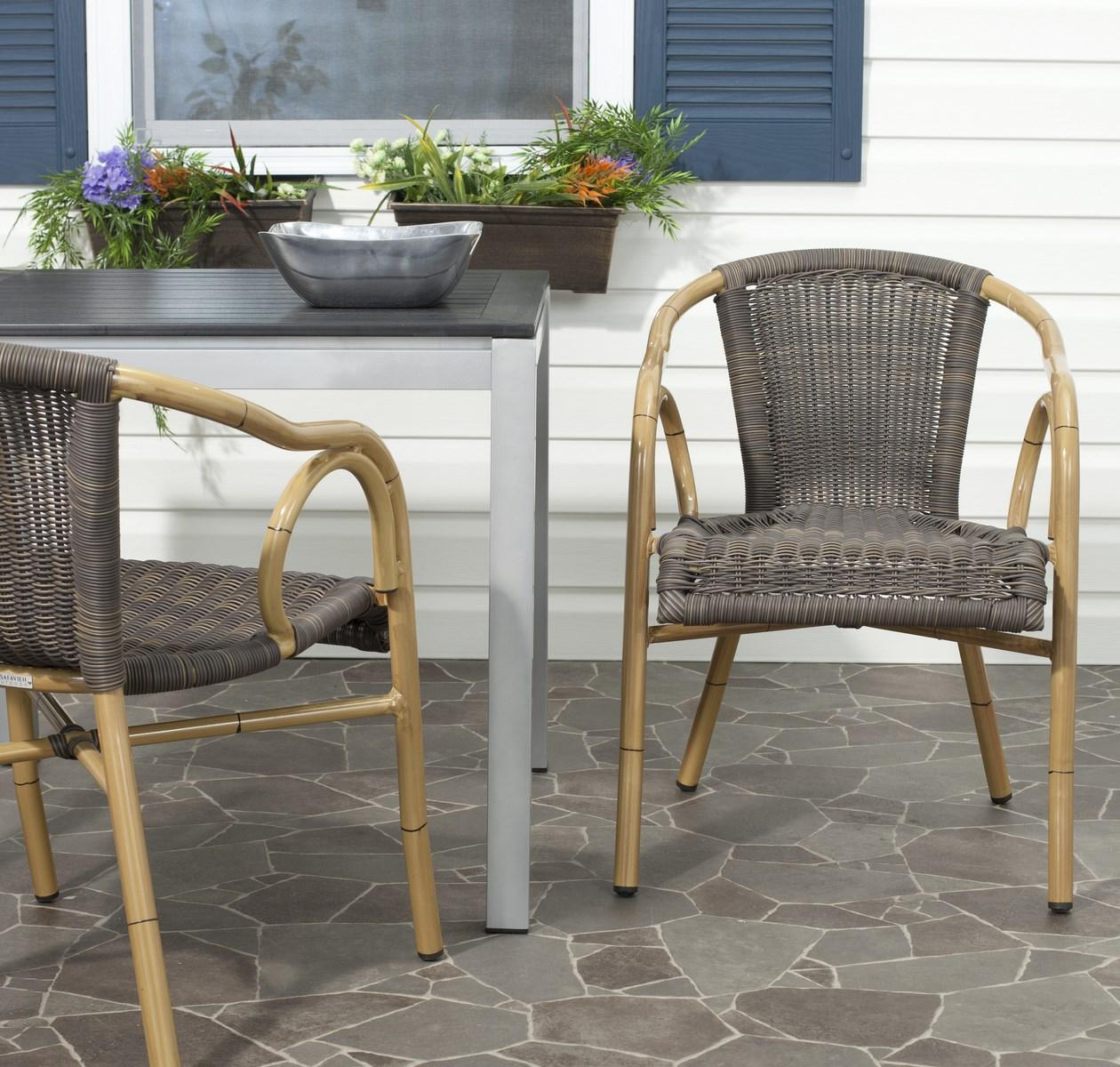 PAT4000A-SET2 Outdoor Dining Chairs