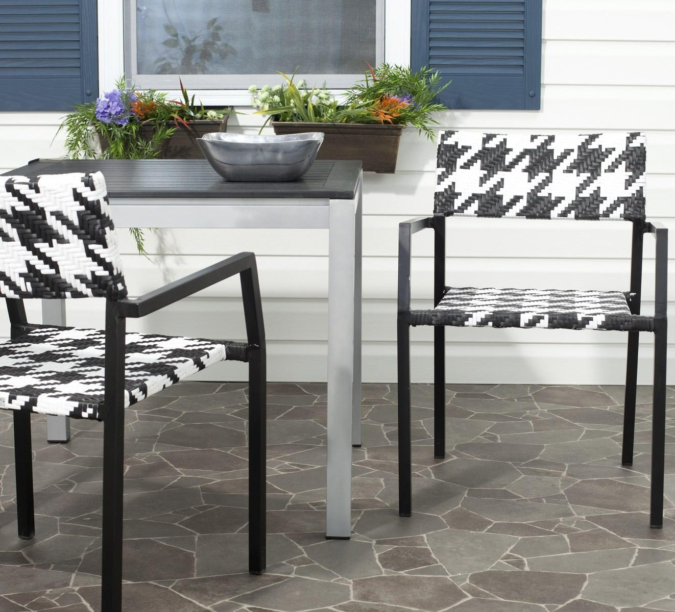 Safavieh Home Furniture: PAT4001A-SET2 Outdoor Home Furnishings, Patio Chairs