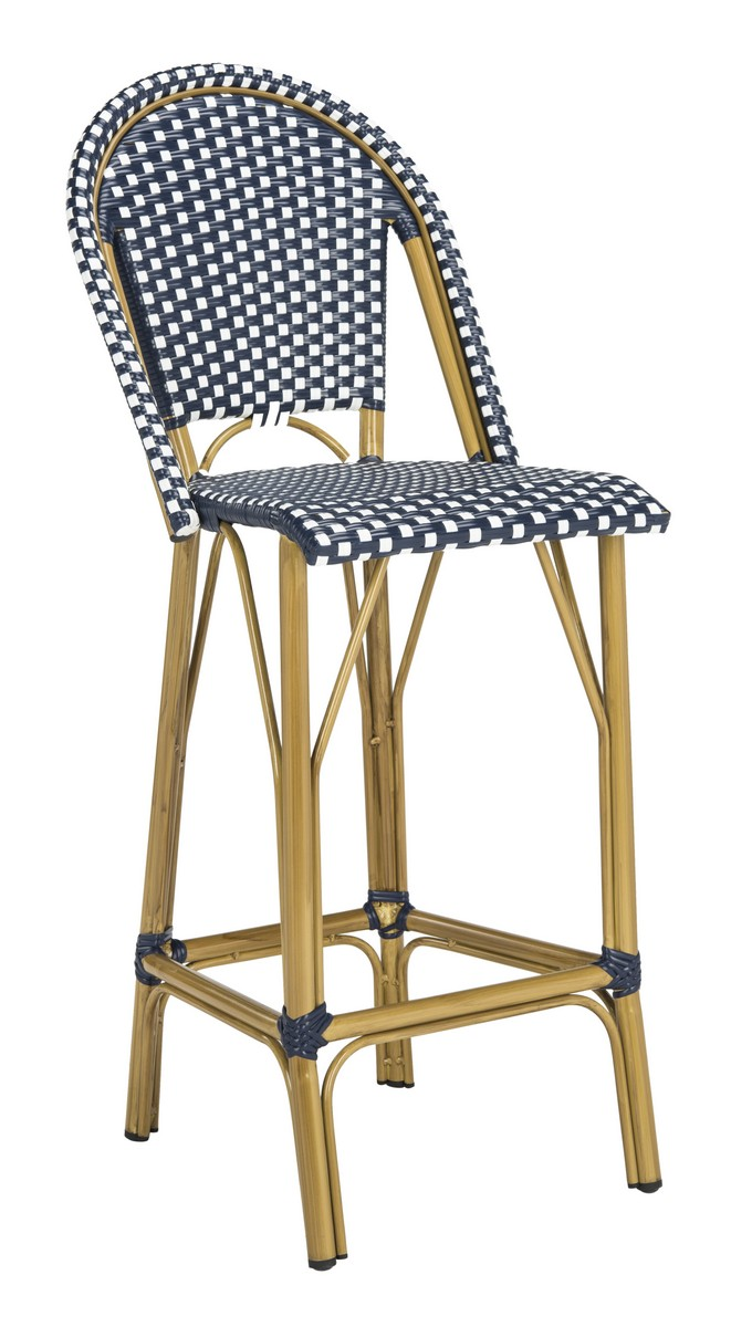 FORD INDOOR OUTDOOR STACKING FRENCH BISTRO BAR STOOL PAT4008A Outdoor BAR  STOOLS