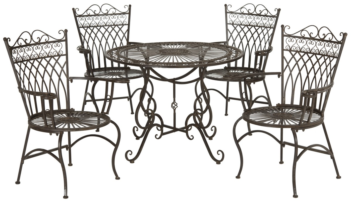 Pat5003b Outdoor Home Furnishings Patio Sets 5 Piece