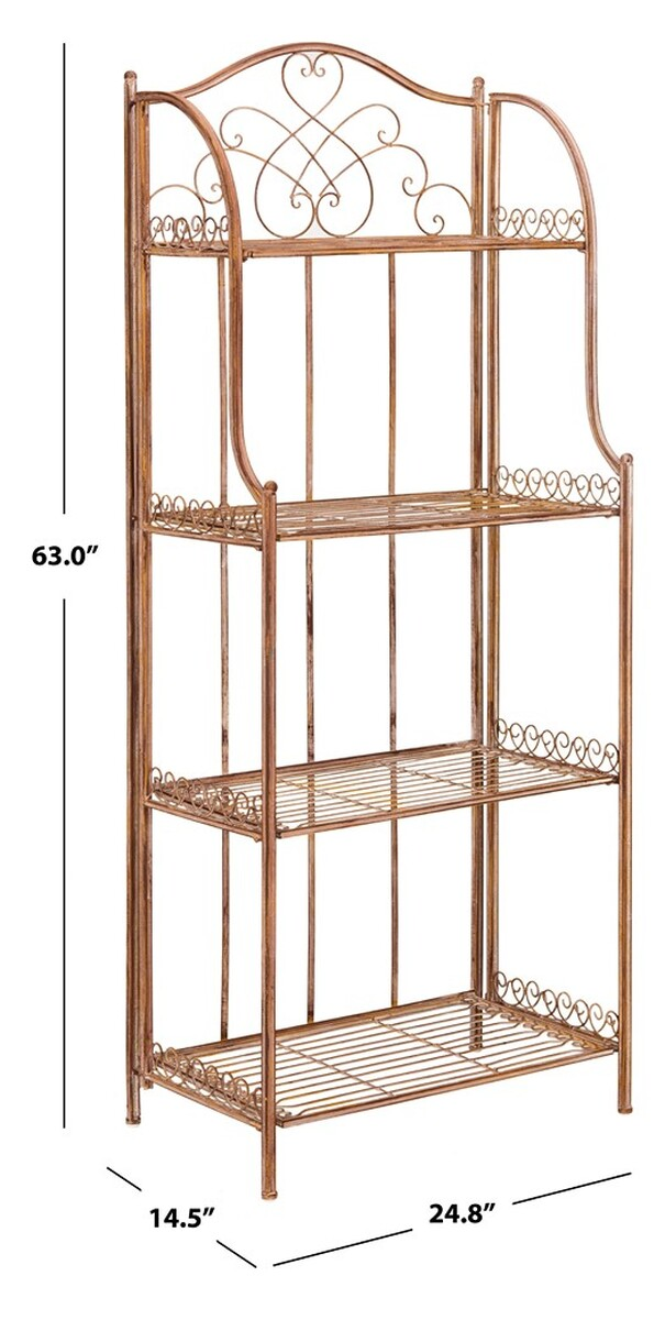 Pat5014a Storage Furniture, Outdoor Bakers Rack