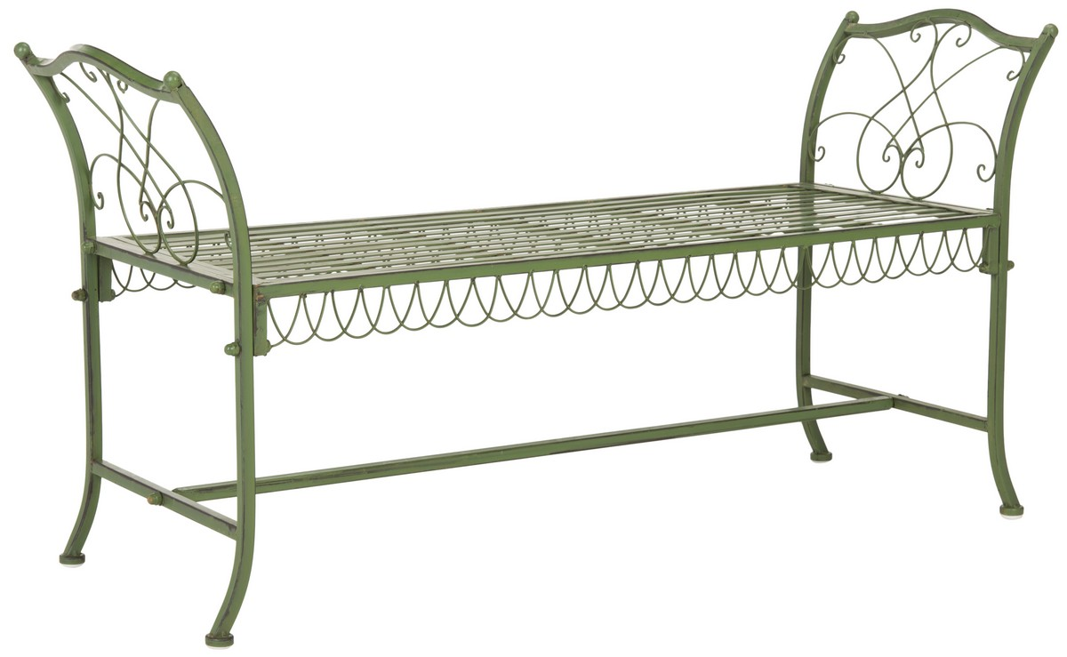 Garden Furniture New Orleans pat5015a garden benches - furnituresafavieh