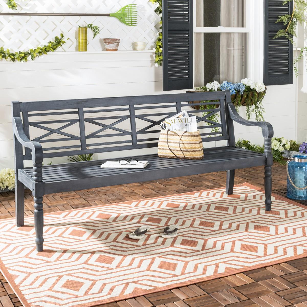 Pat6704k Garden Benches Furniture By Safavieh