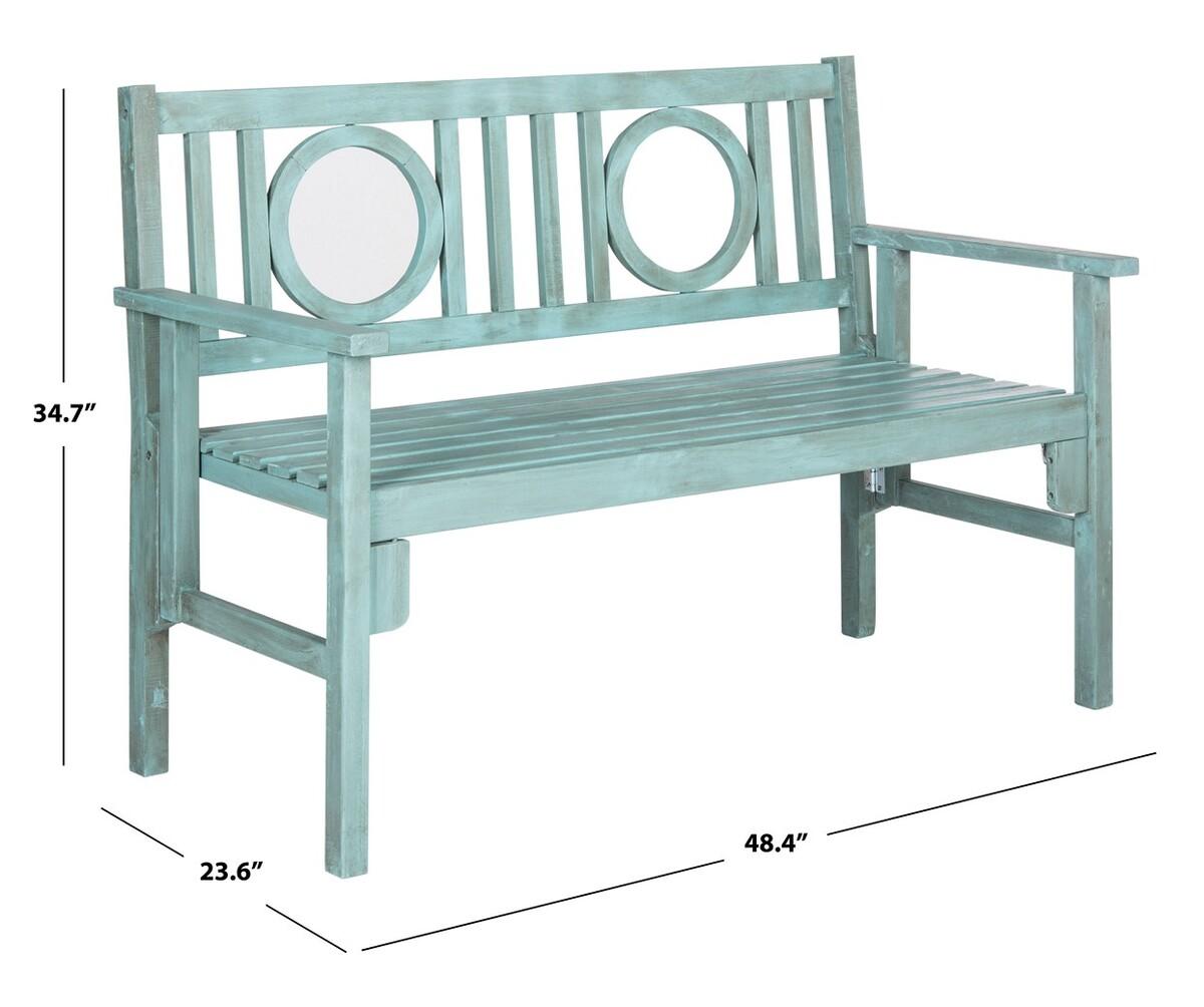 Wondrous Pat6714B Garden Benches Furniture By Safavieh Dailytribune Chair Design For Home Dailytribuneorg