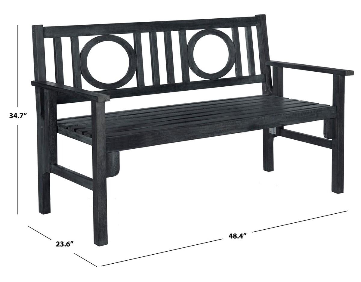 Stupendous Pat6714K Garden Benches Furniture By Safavieh Dailytribune Chair Design For Home Dailytribuneorg