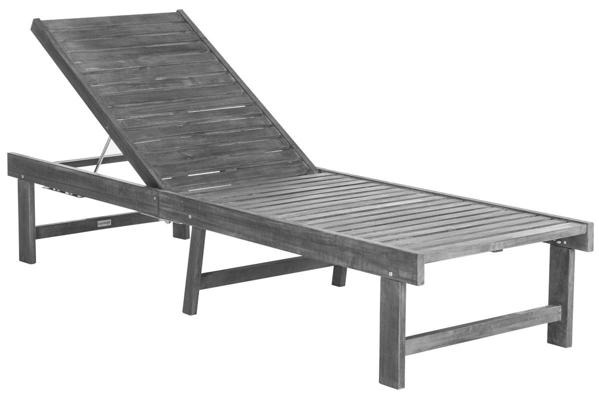 PAT6723D Outdoor Chaise Loungers - Furniture by Safavieh on Safavieh Chaise Lounge id=46167