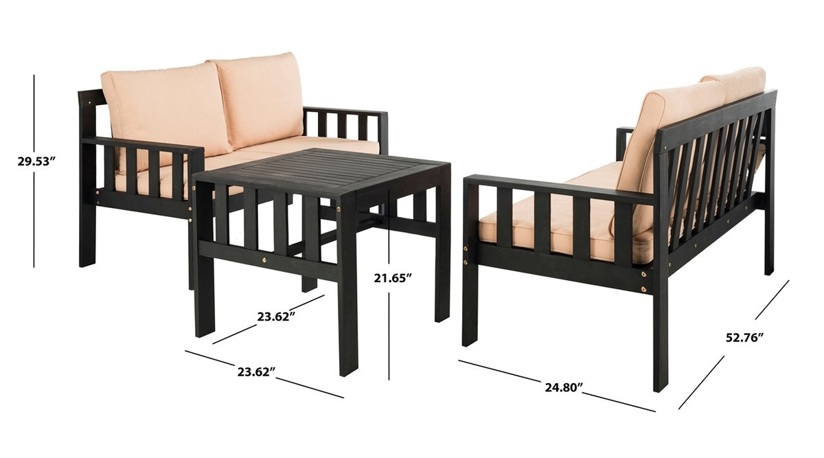 Pat6749a Patio Sets 3 Piece Furniture By Safavieh