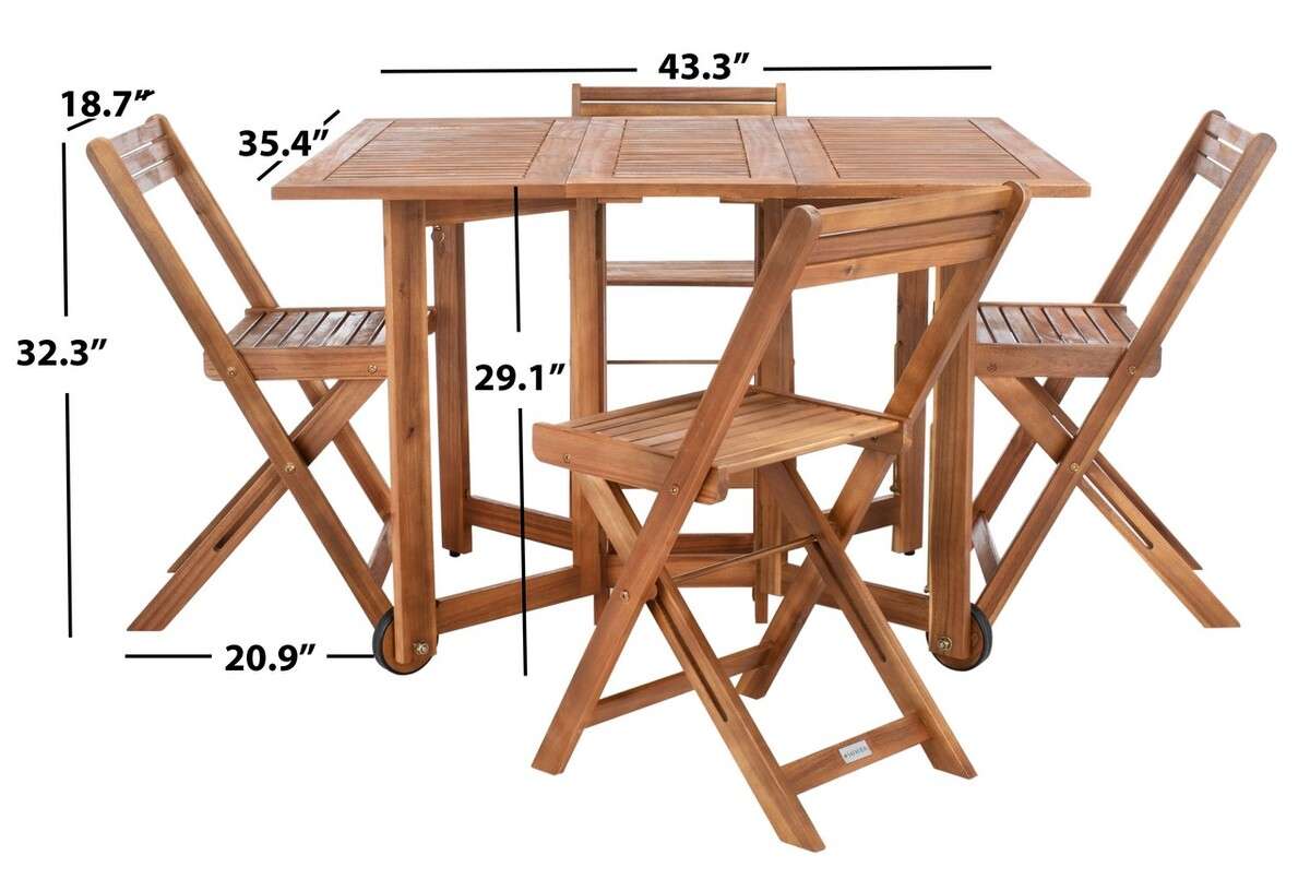 Pat7001a Outdoor Dining Sets Furniture By Safavieh