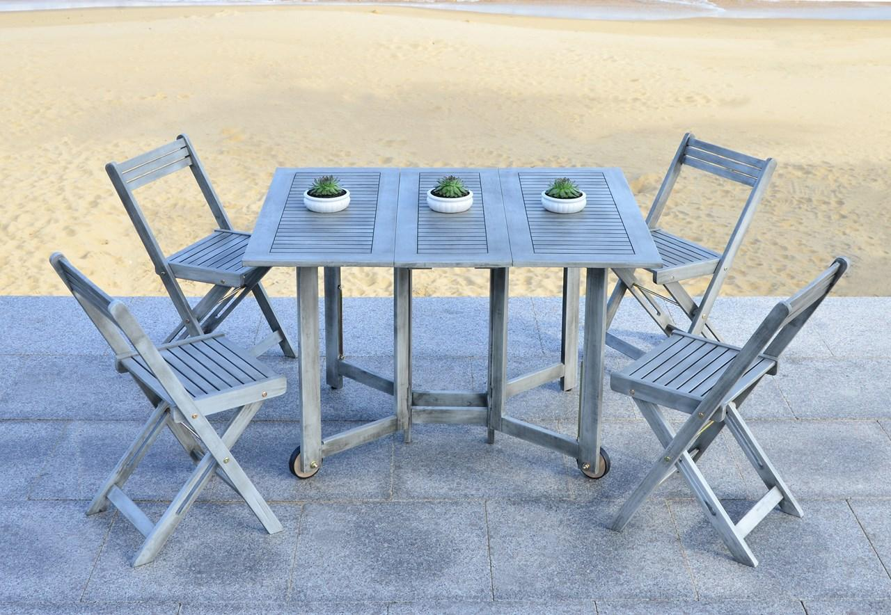 Magnificent Pat7001B Patio Sets 5 Piece Outdoor Dining Sets Machost Co Dining Chair Design Ideas Machostcouk