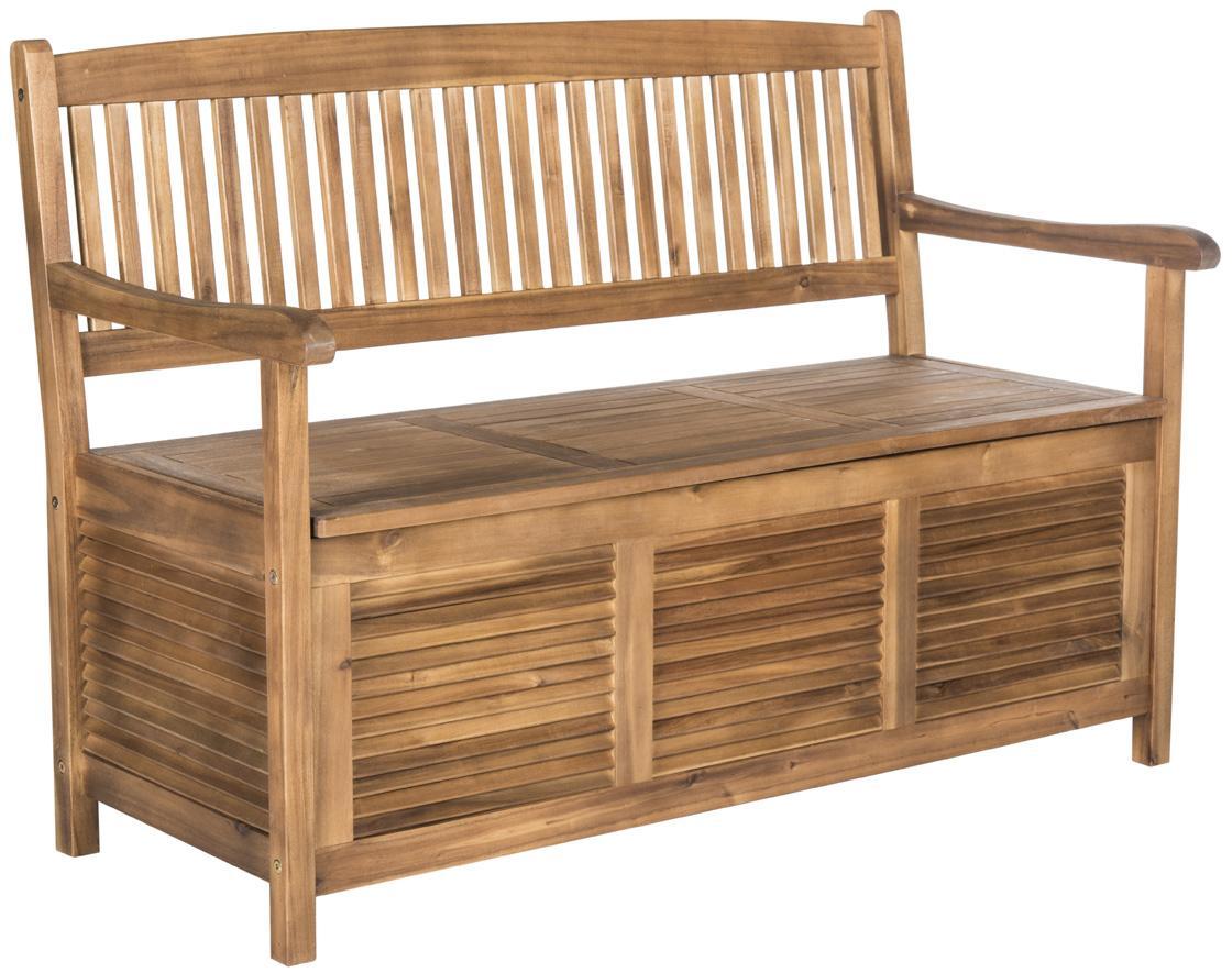 Patio Furniture Storage Bench.Pat7017b Garden Benches Furniture By Safavieh