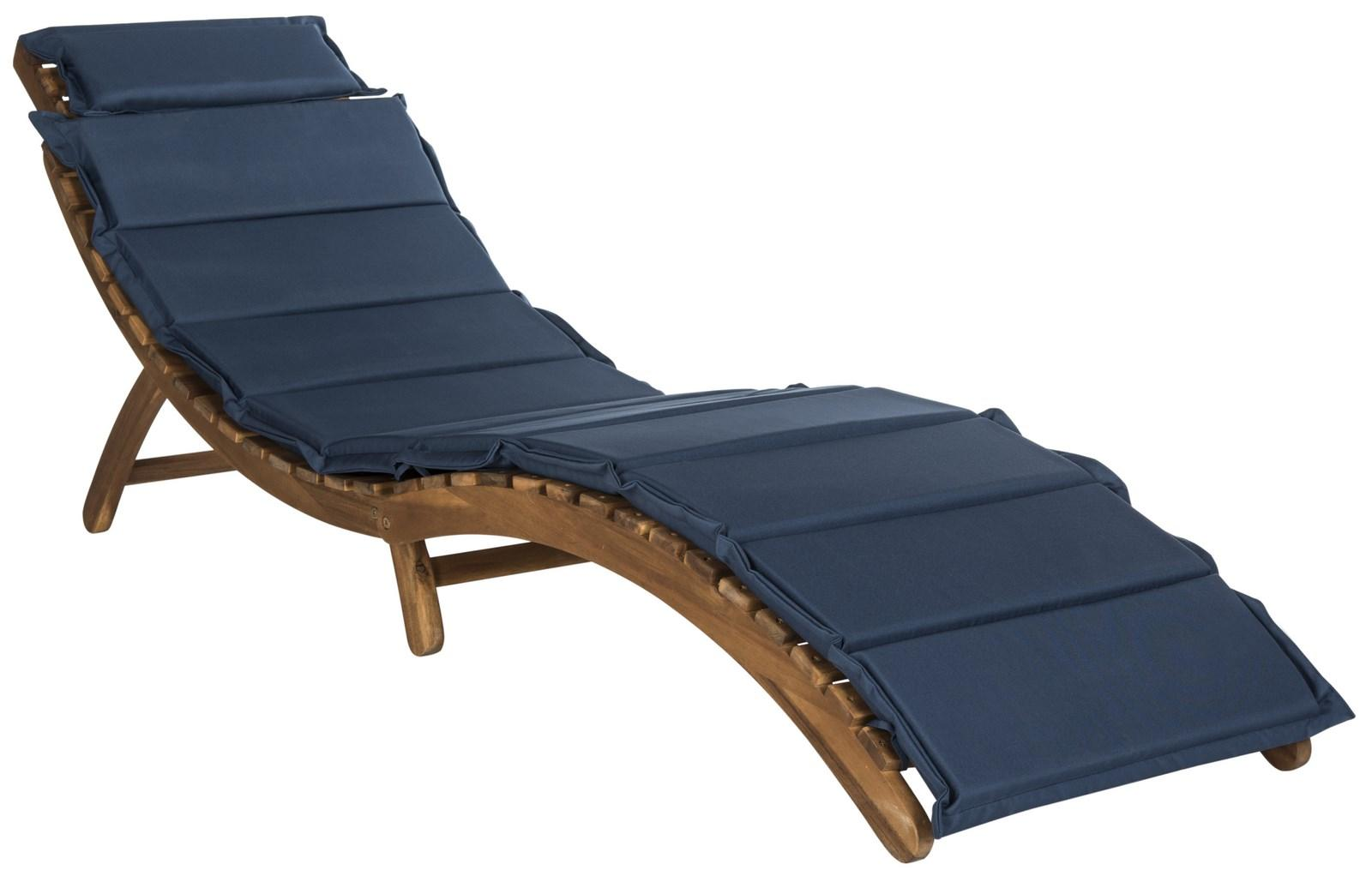 PAT7020C Outdoor Chaise Loungers - Furniture by Safavieh on Safavieh Chaise Lounge id=11545
