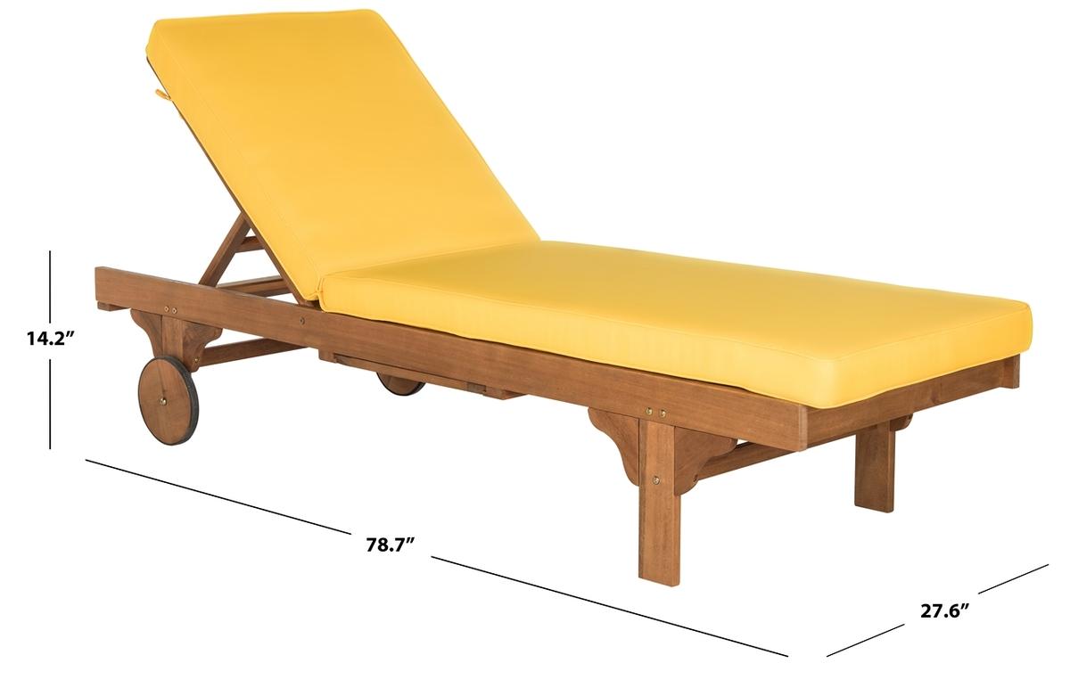 Magnificent Chaise Lounge Chair Outdoor Furnishings Safavieh Com Customarchery Wood Chair Design Ideas Customarcherynet