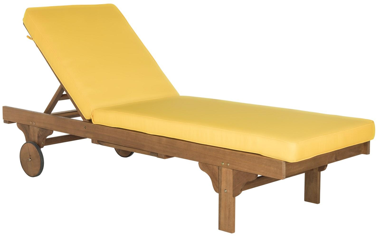 Yellow chaise lounge chairs chairs seating for Big and tall chaise lounge