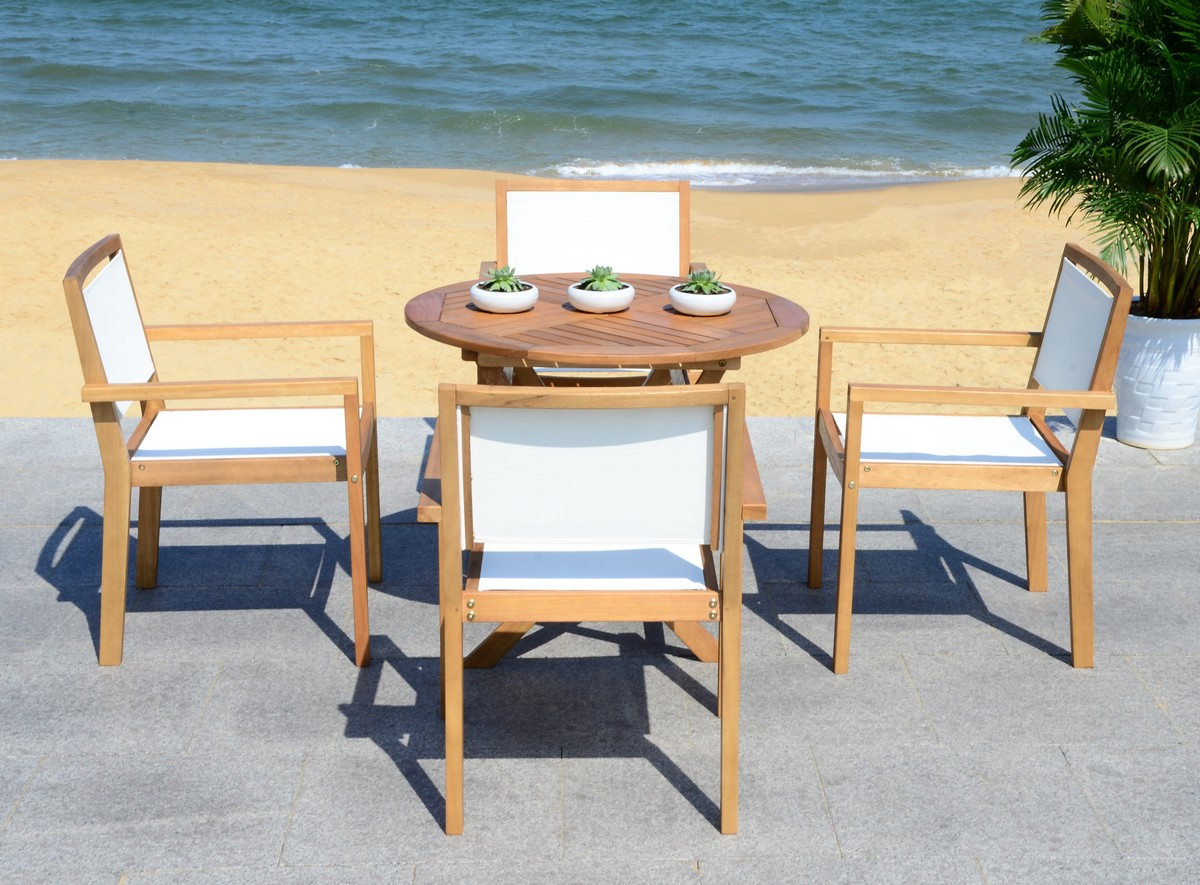 Pat7041a Patio Sets 5 Piece Outdoor Dining Sets