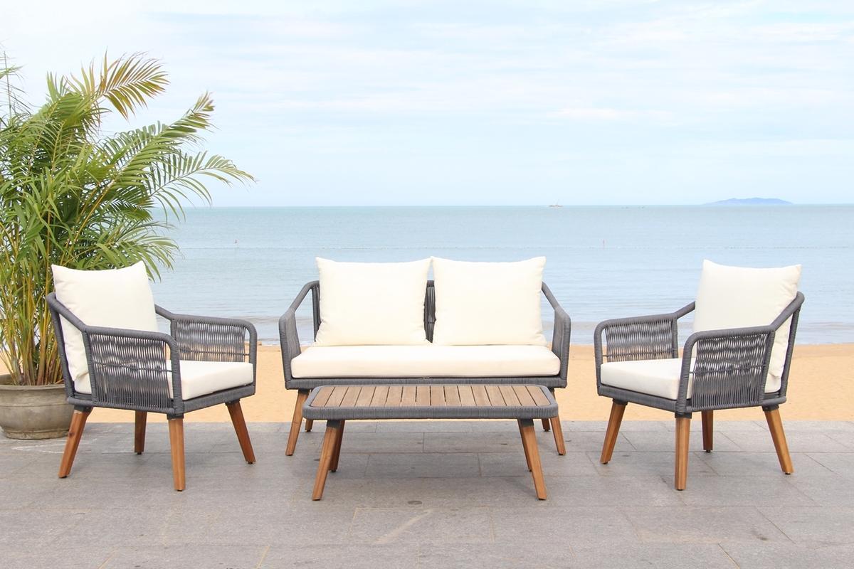 PAT7049A Patio Sets - 4 Piece - Furniture by Safavieh on Safavieh Raldin id=38769