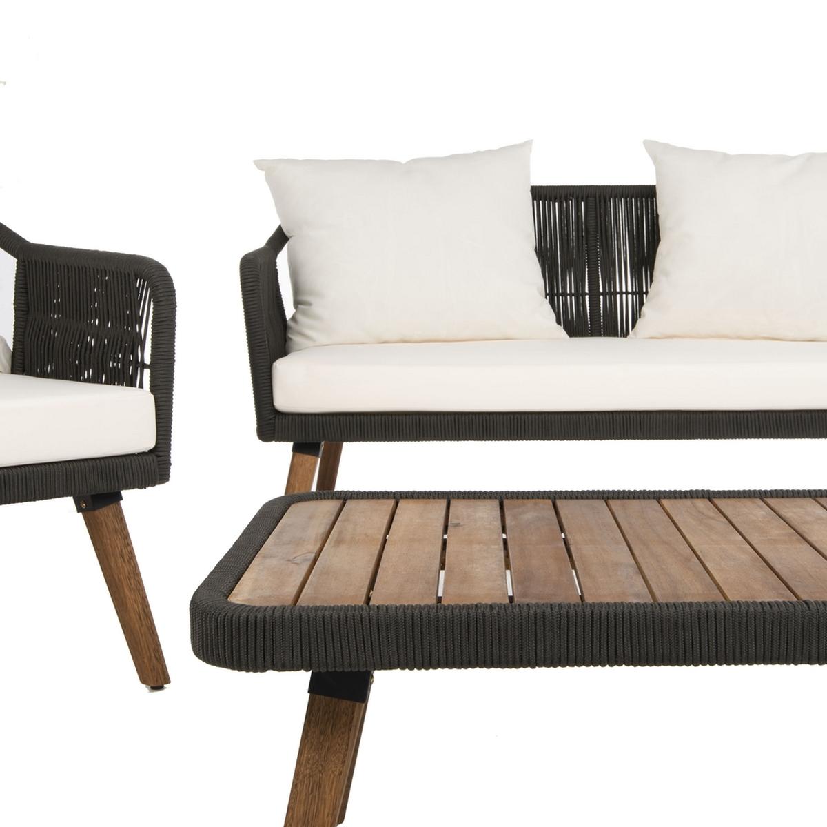 PAT7049B Patio Sets - 4 Piece - Furniture by Safavieh on Safavieh Raldin id=99324