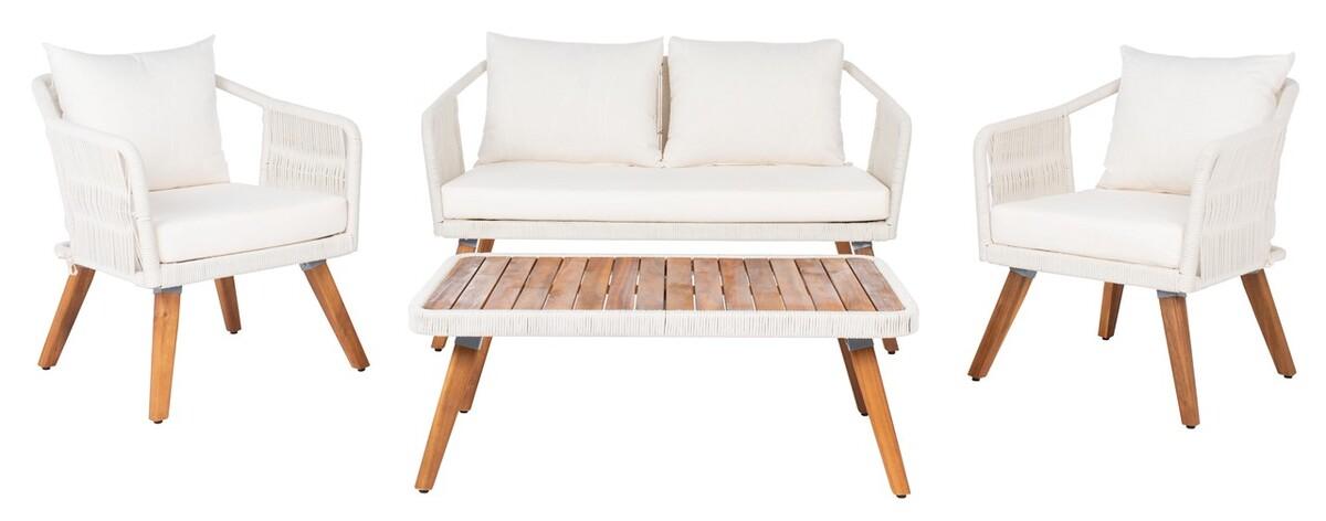 PAT7049D Patio Sets - 4 Piece - Furniture by Safavieh on Safavieh Raldin id=27526