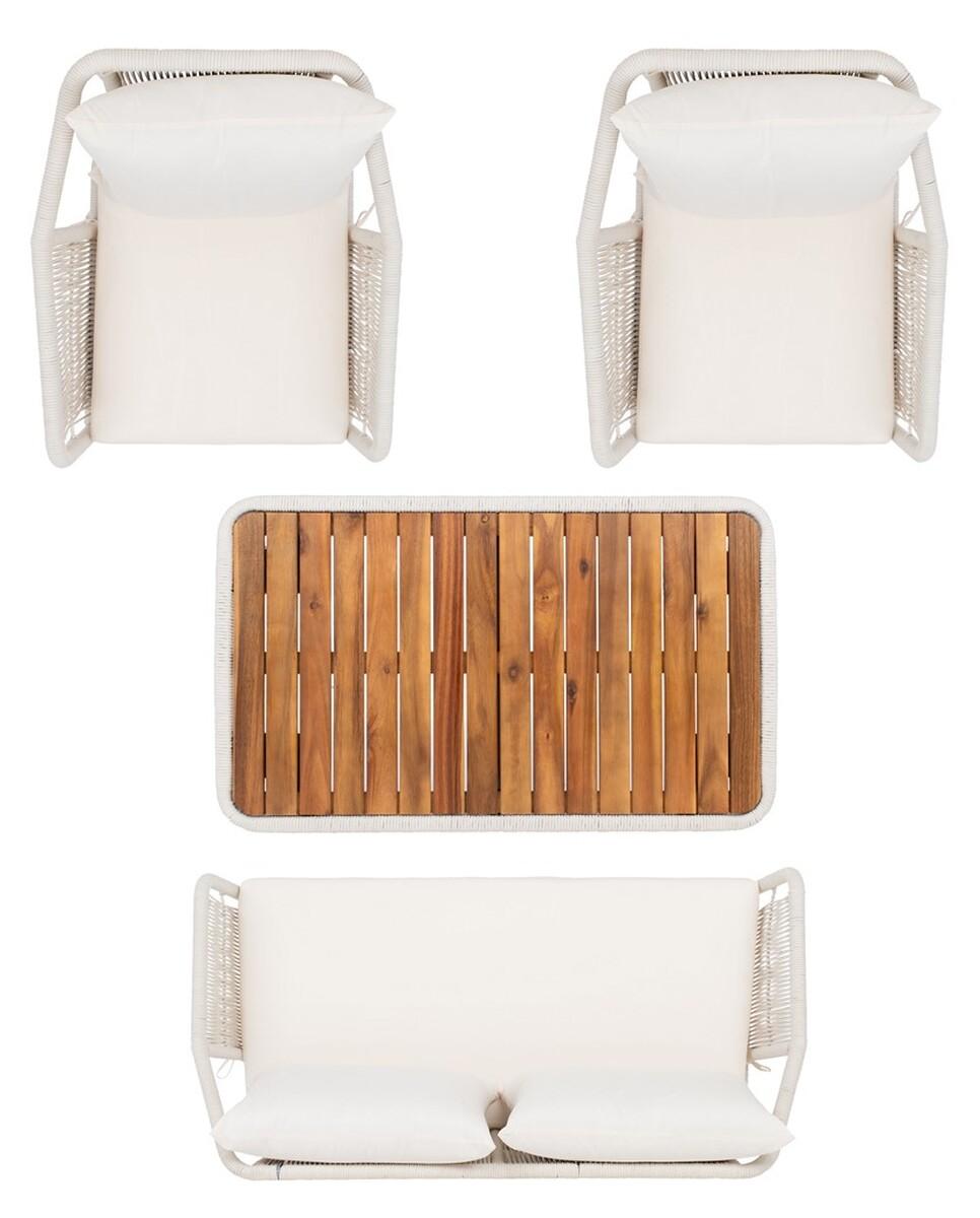 PAT7049D Patio Sets - 4 Piece - Furniture by Safavieh on Safavieh Raldin id=31138