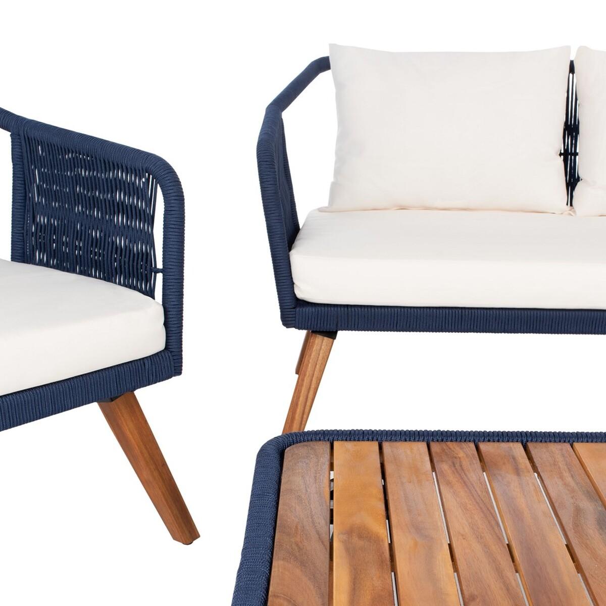 PAT7049E Patio Sets - 4 Piece - Furniture by Safavieh on Safavieh Raldin id=20300