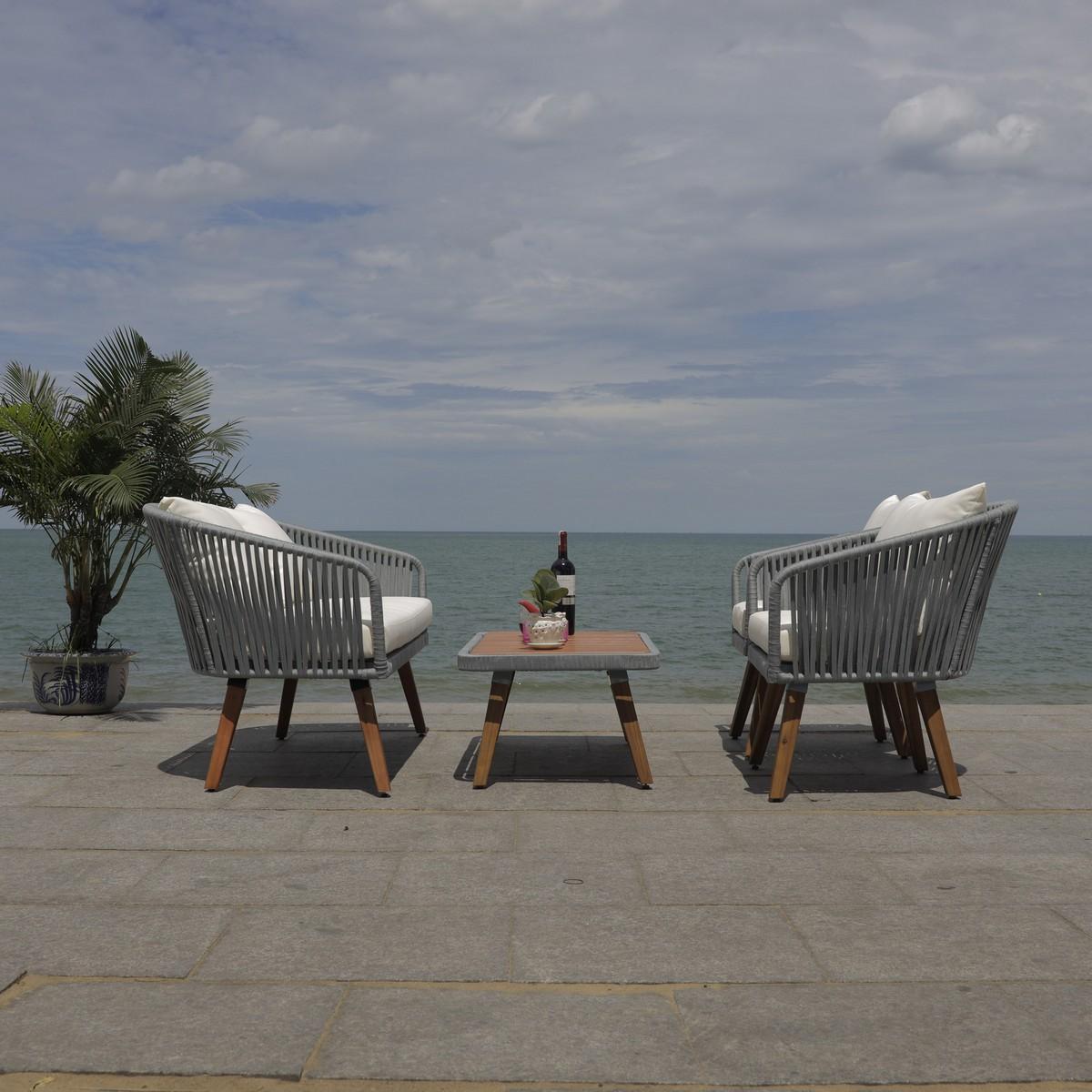 PAT7074A Patio Sets - 4 Piece - Furniture by Safavieh on Safavieh Ransin id=32437