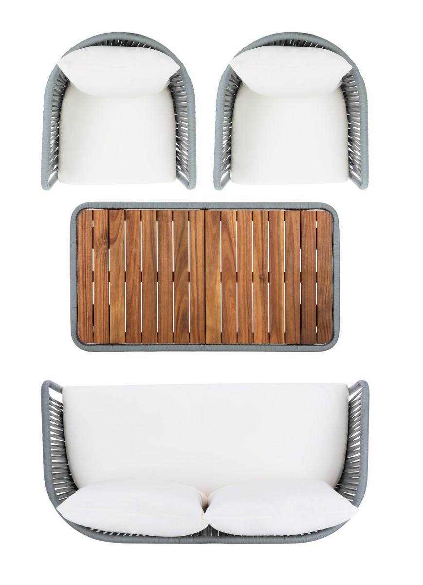 PAT7074A Patio Sets - 4 Piece - Furniture by Safavieh on Safavieh Ransin id=45496