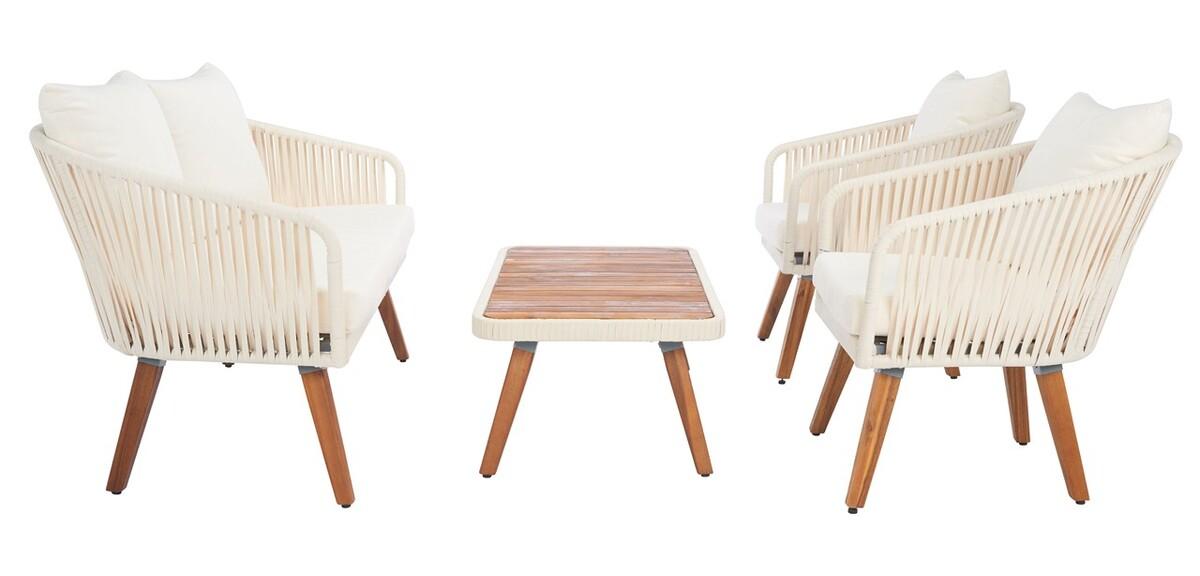 PAT7074D Patio Sets - 4 Piece - Furniture by Safavieh on Safavieh Ransin id=71556