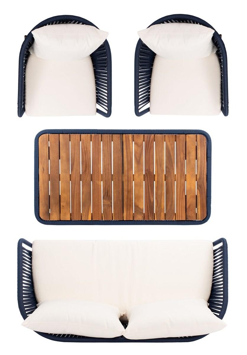 PAT7074E Patio Sets - 4 Piece - Furniture by Safavieh on Safavieh Ransin id=59712