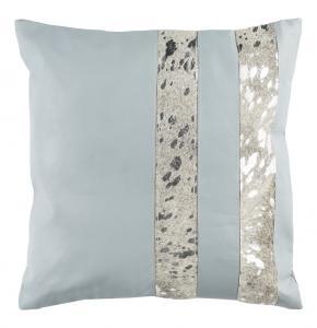 KINSTON METALLIC COWHIDE  Pillow