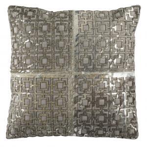 CAMI METALLIC COWHIDE  Pillow